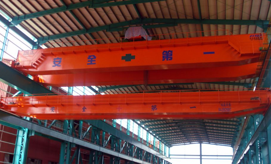 鑄造生產 源鐽電綠能 開放式 吊車 工程
