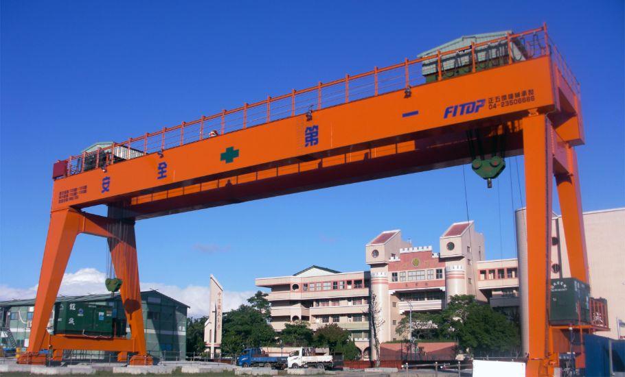 公共工程 地偉達 機場 捷運 開放式 門型 吊車 工程