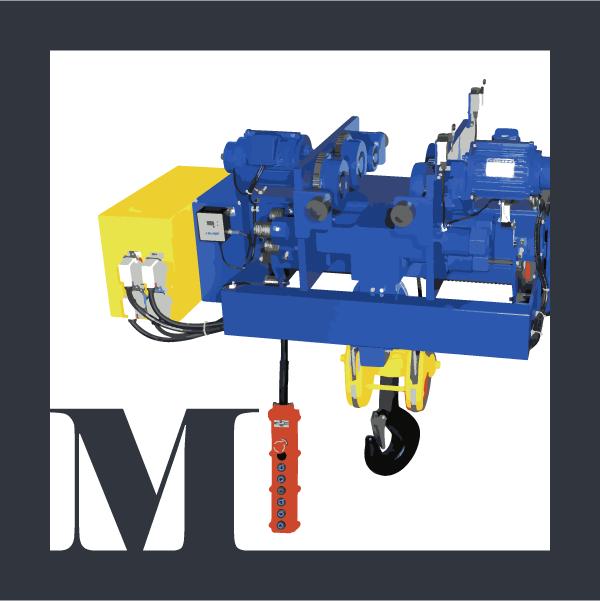 M-series wire-rope hoist