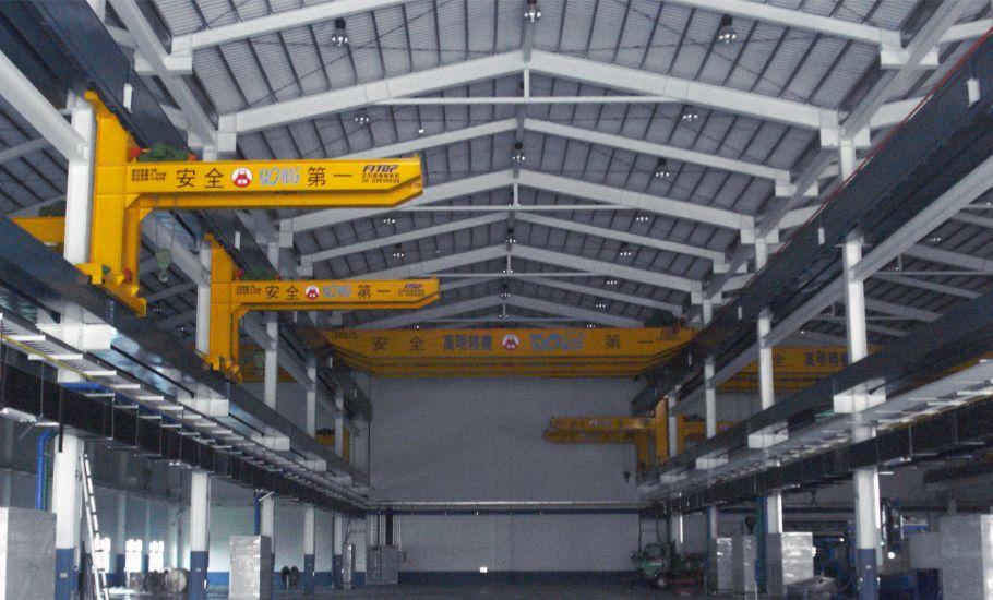 工具機製造 高明 精機雙軌 吊車 工程