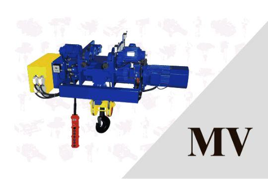 MV 單軌低舉式 鋼索吊車