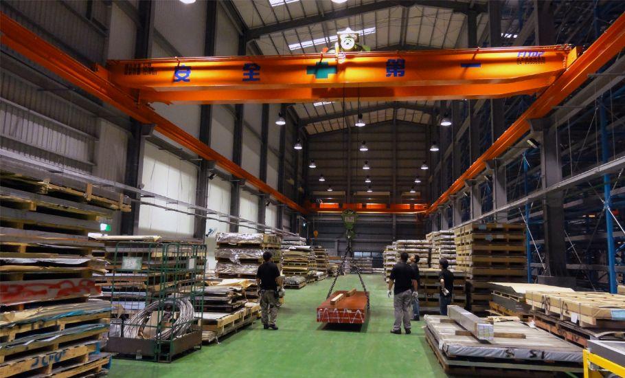 工具機製造 梧濟 工業 雙軌 吊車 工程