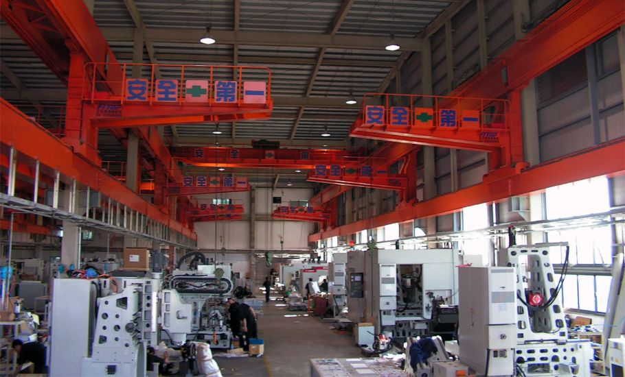 工具機製造 百德 機械雙軌 吊車 工程 走臂式