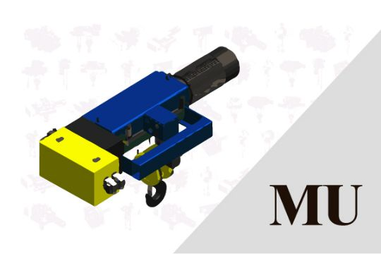 MU Type (Fixed-mounted hoist)