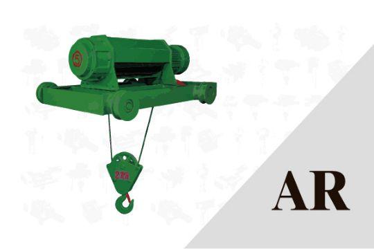 AR 封閉型雙軌座式 鋼索吊車 A系列