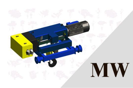 MW Type (Dual-rail hoist)
