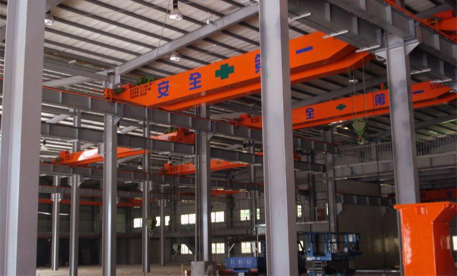 工具機製造 松穎 機械雙軌 吊車 工程