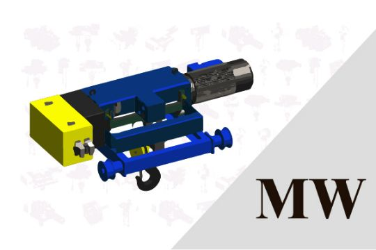 MW 雙軌式 鋼索吊車