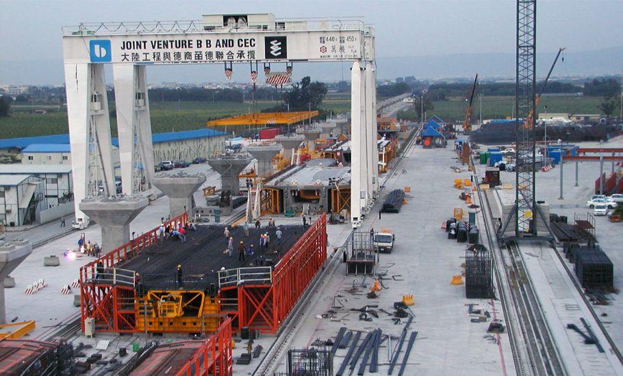 公共工程 皕德 大陸 台灣 高鐵 工程 開放式 門型 吊車 工程