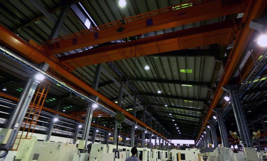 工具機製造 邁鑫 機械 雙軌 吊車 工程