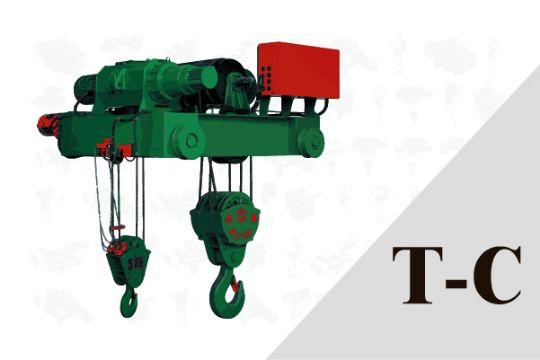 子母型雙軌式 鋼索吊車 A系列