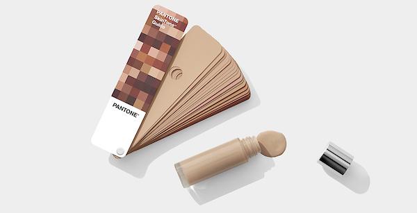 Escala Pantone Skintone Guide com 110 tons de pele