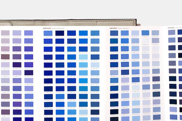 Escala Pantone Cotton Passport com 2.625 cores FHI