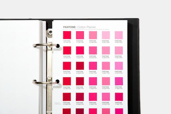 Escala Pantone Cotton Planner com 2.625 cores Moda, Casa e Interiores (FHI)