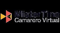 Logo Mister Tino, camarero virtual