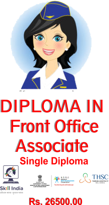 Single Diploma FRONT OFFICE ASSOCIATE
