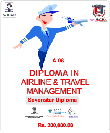 AI 08 DIPLOMA IN AIRLINE & TRAVEL MANAGEMENT