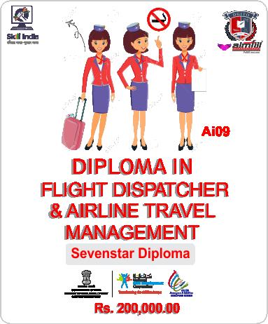 7*FLIGHT DISPATCHER + AIRLINE CUSTOMER CARE EXECUTIVE