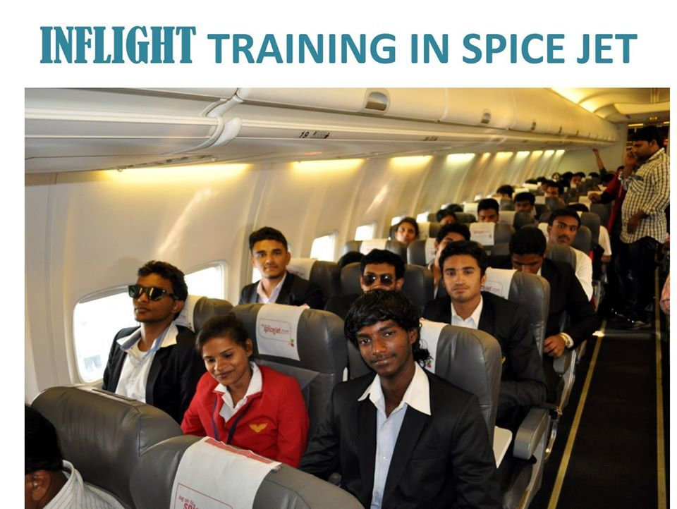 Aimfill Students in Spice jet international trip to the magical city Dubai