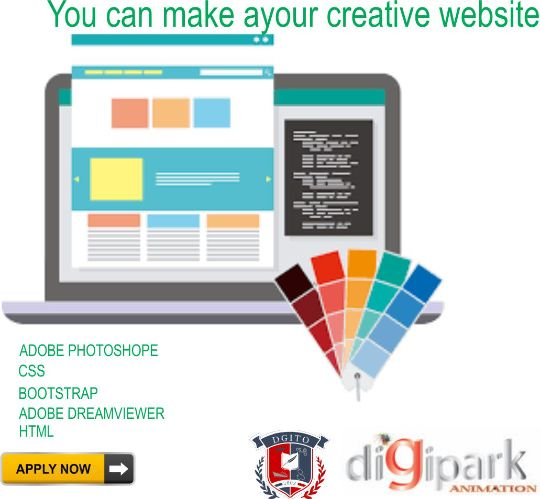 DIGIPARK WEB DESIGNING WEB PAGE BLOCKS