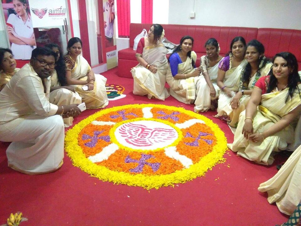 Onam at Aimfill Cochin Branch 2016