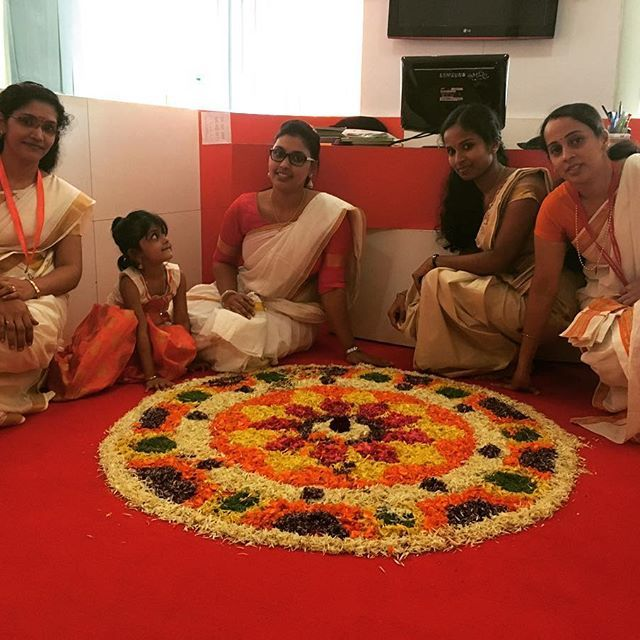 Onam at Aimfill Calicut Branch