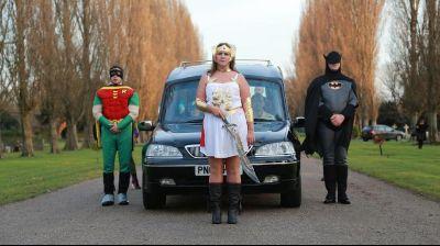 Cosplay pohřeb