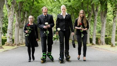 Pohřeb na bruslích