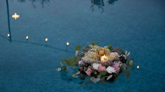 Pohřební rituál - Oheň a voda předají naše vzkazy