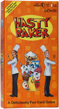 Hasty Baker game box