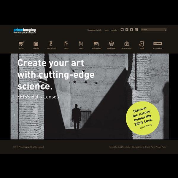Project: Web Design, Client: Prima Imaging - Indonesia