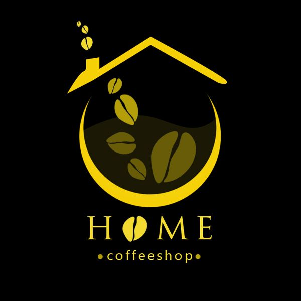 Project: Logo, Client: Home Coffeeshop - USA