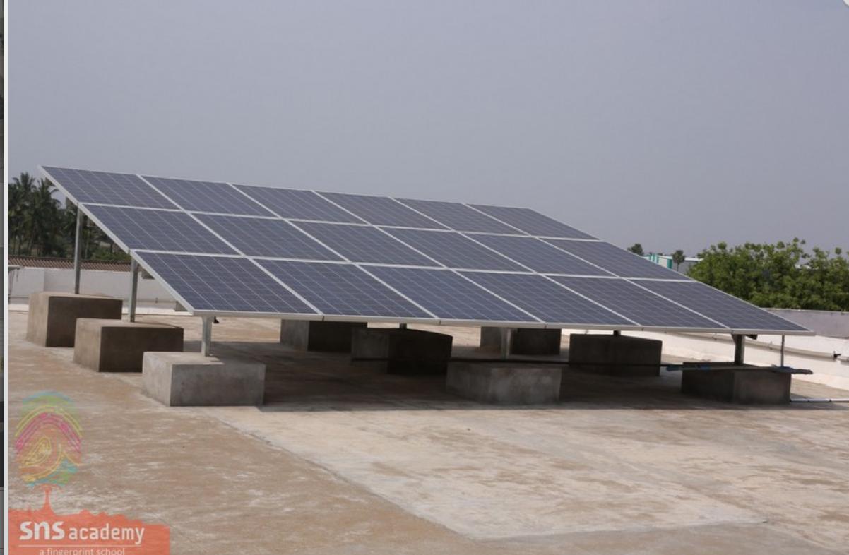 Solar Powered Campus