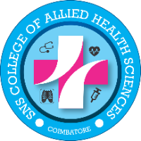 SNS College of Allied Health Sciences Logo