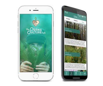 The Permaculture Life mobile app website sustainable living regenerative Benoit Clement BenoitClement.com