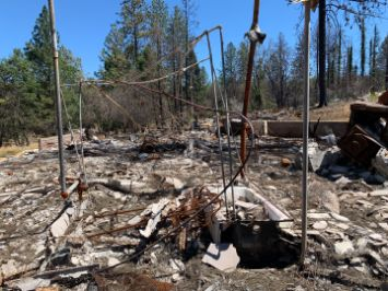 Paradise Camp Fire wildfire Tetra Tech environmental disaster recovery drone mapping arborist Benoit Clement