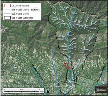 La Casa De Maria Rain Garden Watershed Progressive water conservation habitat restoration stormwater rainwater Benoit Clement