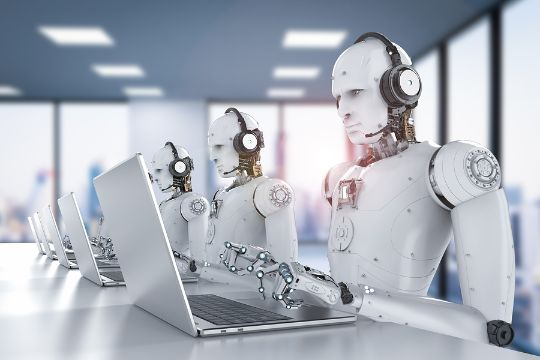 Automated call center