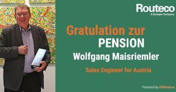 Routeco Austria Pensionierung