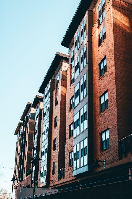multi-family apartment blocks