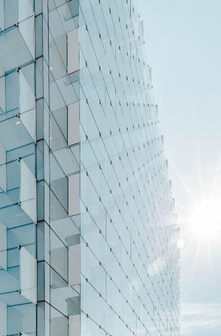 office blocks tower