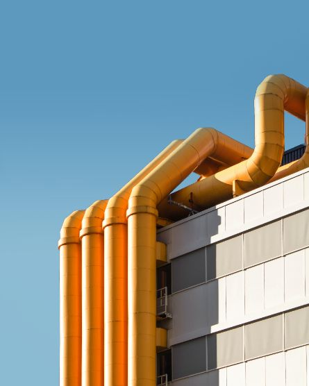 steam pipes