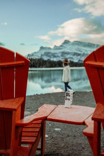 ice mountain view