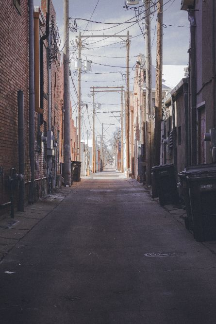 town alley