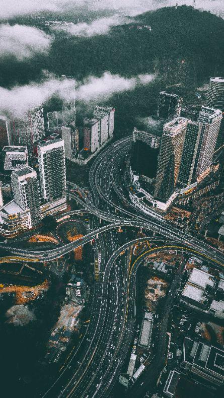 complex road network