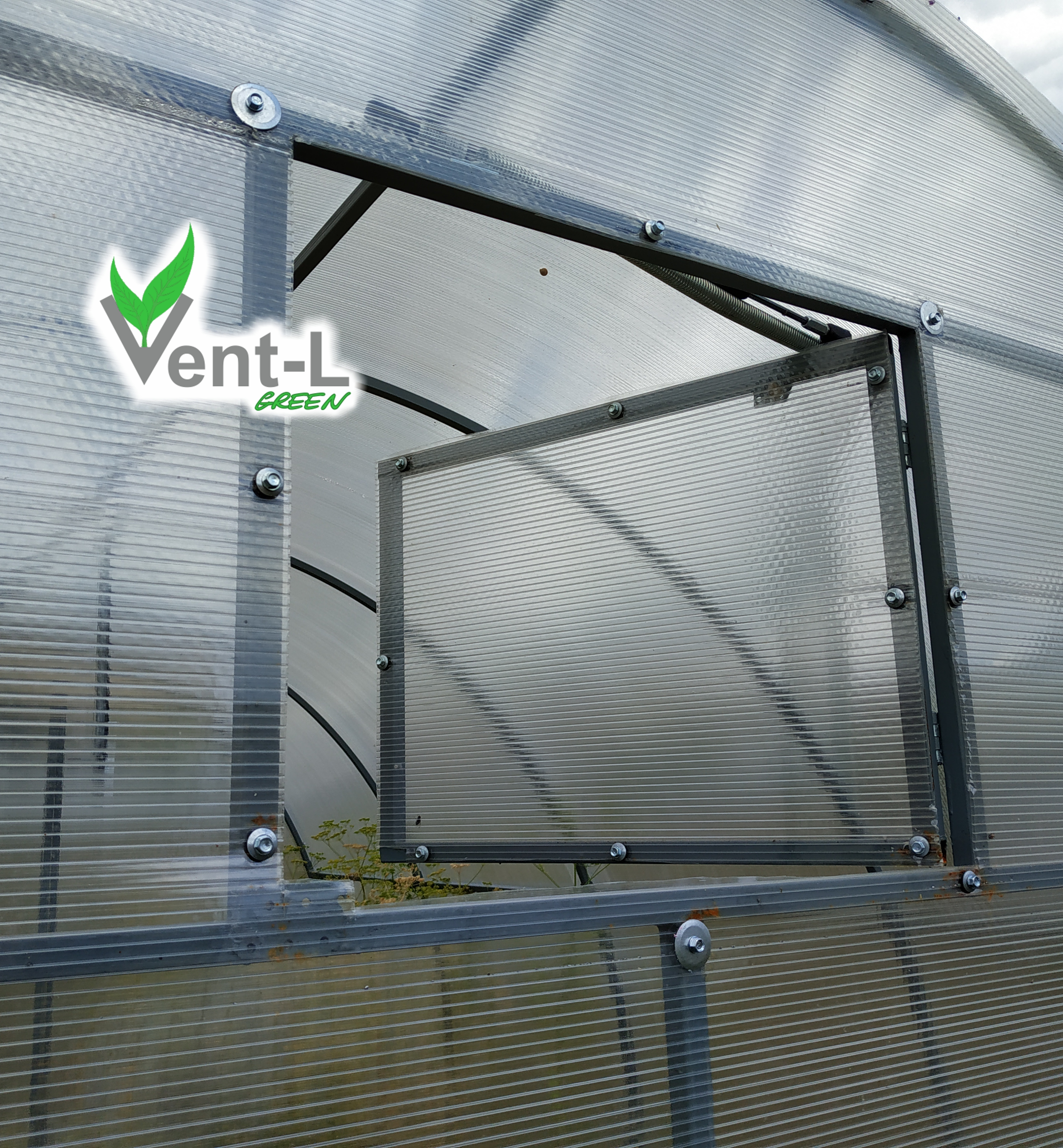 Automatic Vent opener Vent-L N02 opening temperatu of greenhouse load up to 60kg(132lb) for window/doors, re 24-32°C(75-90°F), openable surface area up to 1 m2 (11 ft2)