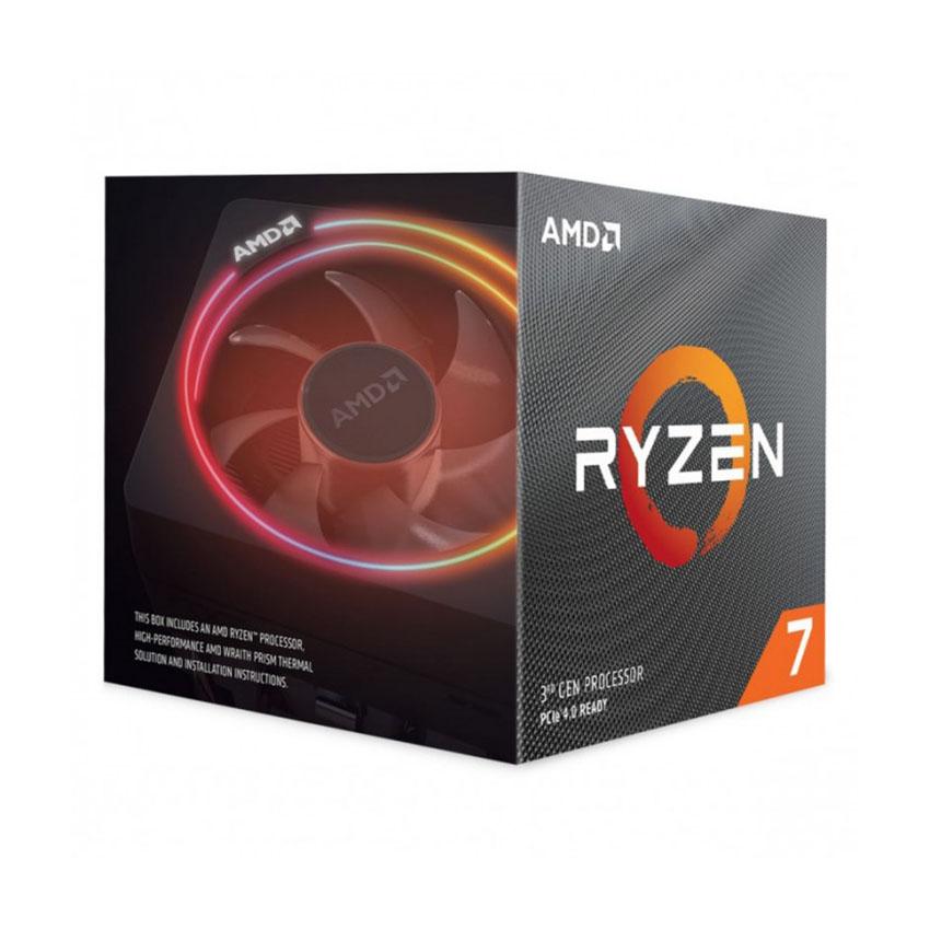 CPU AMDRyzen 7 3700X (3.6GHz turbo up to 4.4GHz, 8 nhân 16 luồng, 32MB Cache, 65W) - Socket AMD AM4 chính hãng