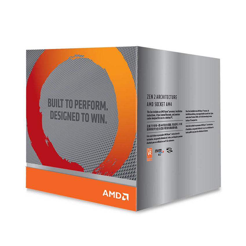 CPU AMDRyzen 9 3900X (3.8GHz turbo up to 4.6GHz, 12 nhân 24 luồng, 64MB Cache, 105W) - Socket AMD AM4 chính hãng