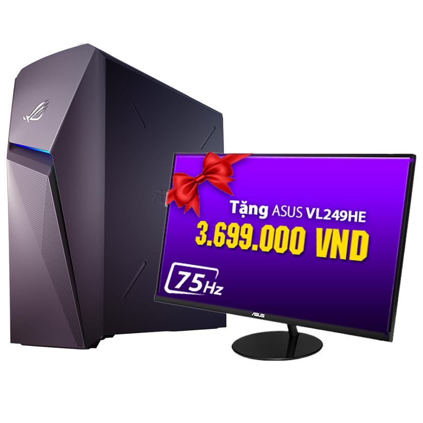 PC Asus ROG Strix GL10CS-VN005T (i5-9400/8GB RAM/1TB HDD/RTX 2060/Win 10) (GL10CS-VN005T) chính hãng