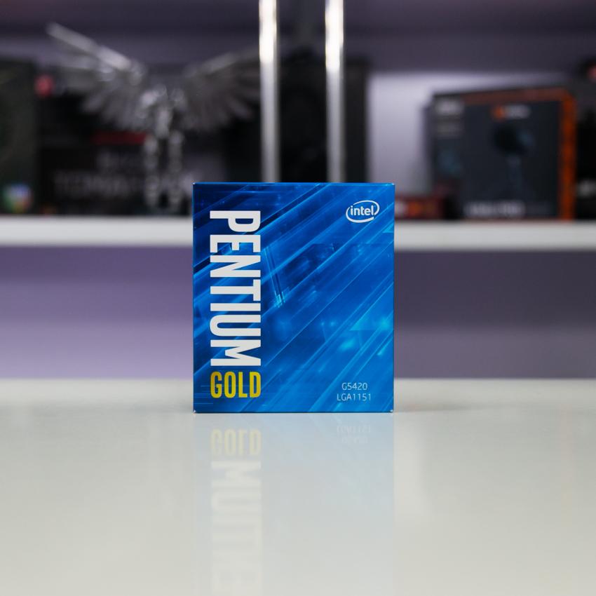 CPU Intel Pentium Gold G5420 (3.8GHz, 2 nhân 4 luồng, 4MB Cache, 54W) - Socket Intel LGA 1151) chính hãng